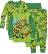 LICENSED PROPERTIES 4-pc. Teenage Mutant Ninja Turtles Pajama Set- Toddler Boys 2t-4t