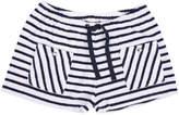Emile et Ida Striped Sweat Shorts