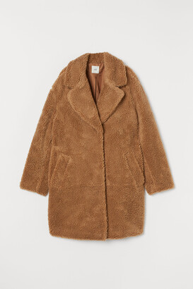 H&M Faux Shearling Coat