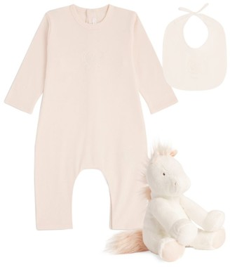 Chloé Kids All-In-One With Bib Unicorn Set (1-12 Months)
