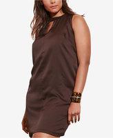 Lauren Ralph Lauren Plus Size Vovidia Sleeveless Dress