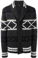 Fay patterned cardigan