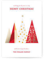 Minted O Christmas Tree Holiday Non-Photo Cards