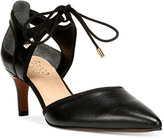 Franco Sarto Darlis Ankle-Tie Pointed-Toe Pumps