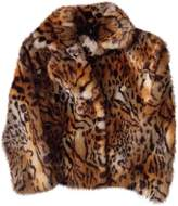 Mother Brown Faux fur Jacket for Women