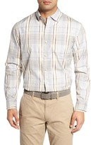 Tommy Bahama Men's Romanesco Plaid Standard Fit Sport Shirt