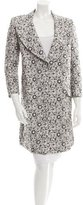 Mulberry Floral Long Sleeve Coat