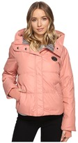 Converse Core Mid-Length Puffer Jacket Women's Coat