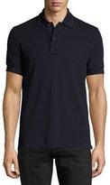 Tom Ford Tennis Pique Polo Shirt, Navy