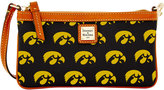 Dooney & Bourke Iowa Hawkeyes Large Wristlet