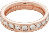 Ted Baker Claudie: Claudie Narrow Crystal Band Ring Ml