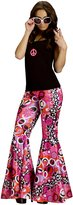 Fun World Costumes Flower Child Bell Bottoms Women's Costume