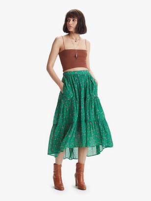 XiRENA Iris Skirt - Green Grass