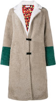Saks Potts - shearling coat - women - Sheep Skin/Shearling/Polyester - 1