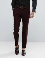 Noose & Monkey Super Skinny Harris Tweed Trousers
