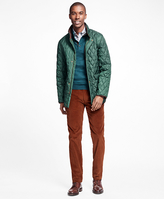 Brooks Brothers Quilted Walking Coat