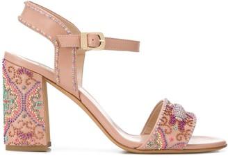 Fratelli Rossetti 95mm Beaded Sandals