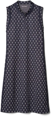 Tory Burch Net-T Sleeveless Track Dress