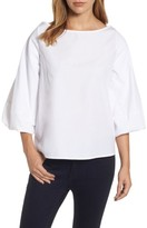 Halogen Women's Blouson Bell Sleeve Top