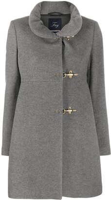 Fay High Neck Duffle Coat
