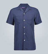 Ralph Lauren Purple Label Polka-dot short-sleeved shirt