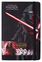 "Moleskine Star Wars NotebookHard CoverCollege Ruled240 sheets5"" x 8"" - Kylo Ren"