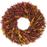 Floral Treasure Yellow and Red Myrtle Wreath