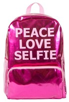 """Fashion Angels Style Lab by 16.5"""" Peace Love Selfie Backpack - Diva Pink"""