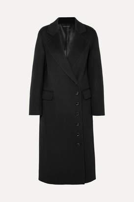 Joseph Signe Wool And Cashmere-blend Felt Coat - Black