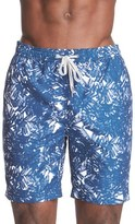Onia Men's 'Charles' Print Swim Trunks