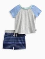 Splendid Baby Boy Raglan Short Set