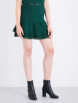 Sandro Tiered knitted skirt