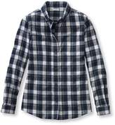 L.L. Bean L.L.Bean Scotch Plaid Shirt, Relaxed