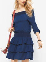 Michael Kors Off-The-Shoulder Dress