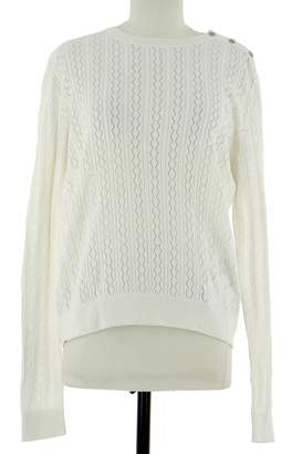 A.P.C. White Cotton Knitwear for Women