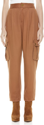 Alice + Olivia Clarkson Ankle Cargo Pant