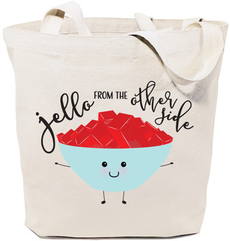 The Cotton And Canvas Company The Cotton and Canvas Company Totebags Natural - Natural 'Jello from the Other Side' Tote