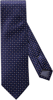 Eton Men's Striped Silk Tie