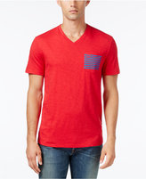 Tommy Hilfiger Men's Big & Tall Social Graphic-Print V-Neck T-Shirt