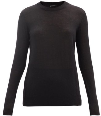 Joseph Cashair Cashmere Sweater - Black