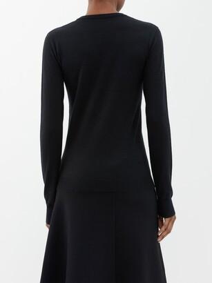 Joseph Cashair Cashmere Sweater - Womens - Black