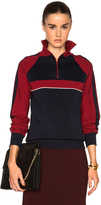 Chloé Sporty Silk Knit Track Jacket