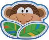 Stephen Joseph Monkey Divided Melamine Tray