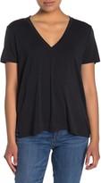 Lush V-Neck Short Sleeve T-Shirt