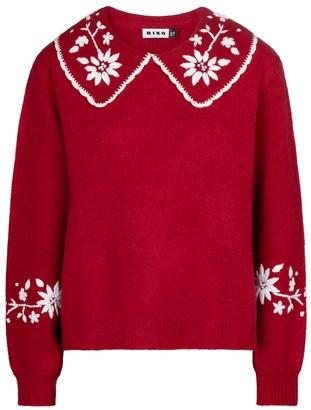 Rixo Lula wool sweater