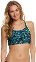 Speedo Women's Endurance Lite Print Aqua Elite Swim Top 8149480