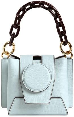 Yuzefi Daria Leather Top Handle Bag