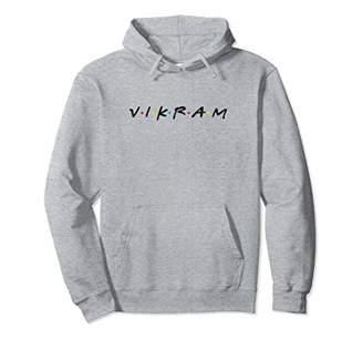 Vikram Man's Name - Funny Pullover Hoodie