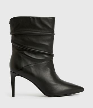 AllSaints Olia Leather Boots