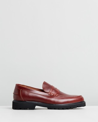 Double Oak Mills Busan Leather Loafers